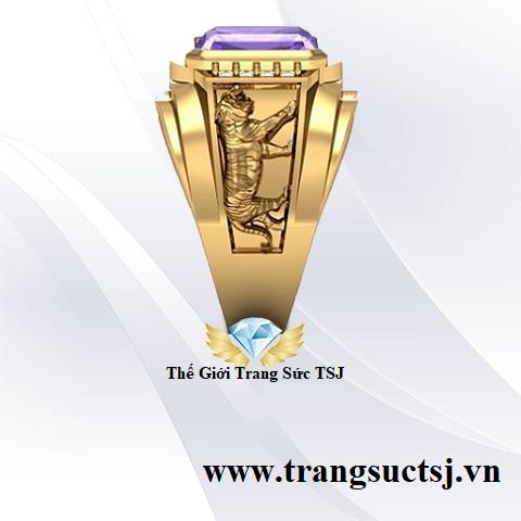 Nhẫn vàng tây nam đẹp