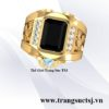 Thế Giới Trang Sức TSJ - Nhẫn Nam Sapphire Đen