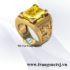 Nhẫn Nam Sapphire Vàng Thời Thượng - Trang Sức TSJ