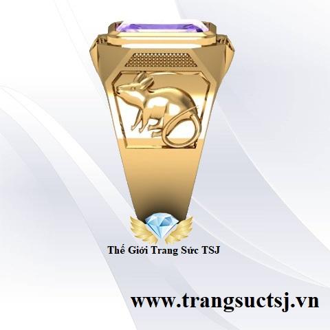 Nhẫn Nam Mặt Đá Đẹp tại Thế Giới Trang Sức TSJ