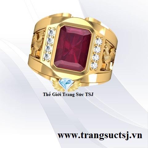 Nhẫn Ruby Đỏ Hợp Phong Thủy Theo Tuổi