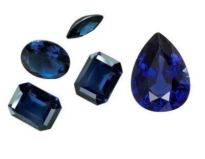 Đá Sapphire Xanh Bích