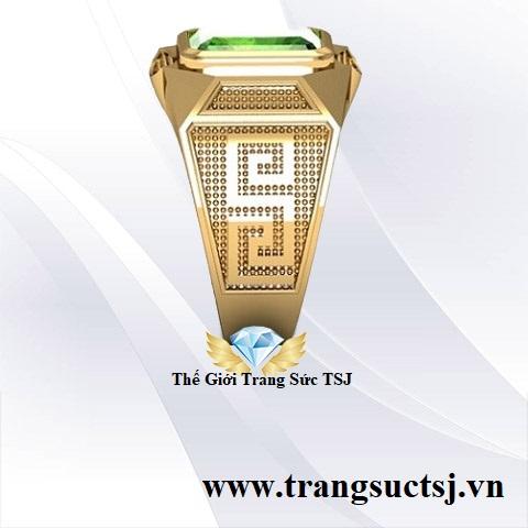 Nhẫn Nam Vàng Tây 18k Đẹp TPHCM