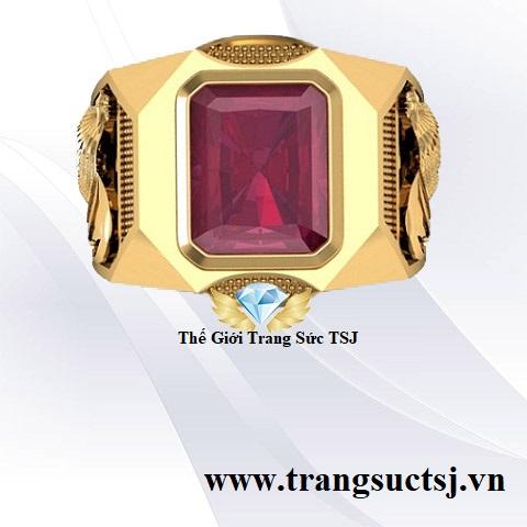 Nhẫn Ruby Đỏ Đẹp Giá Rẻ Nhất TPHCM