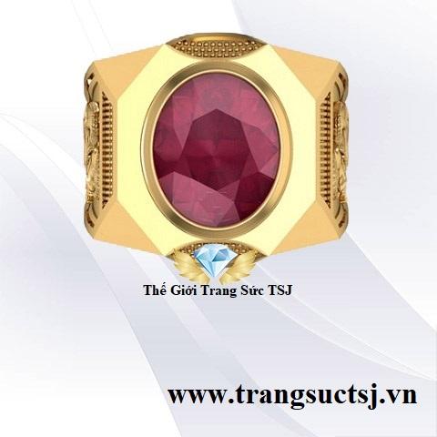 Nhẫn Ruby Nam Hợp Phong Thủy Đẹp Tại TPHCM