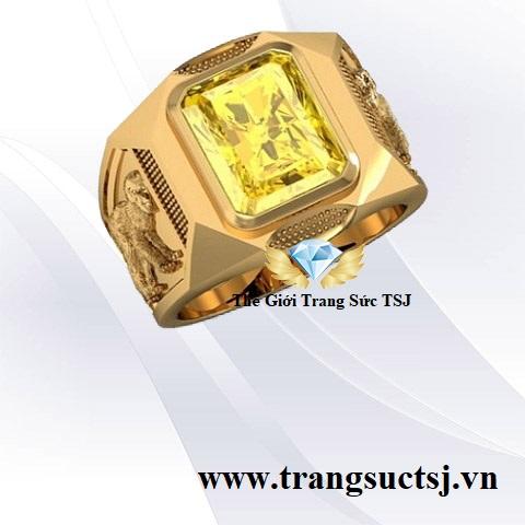 Nhẫn Sapphire Vàng Nam Hợp Tuổi