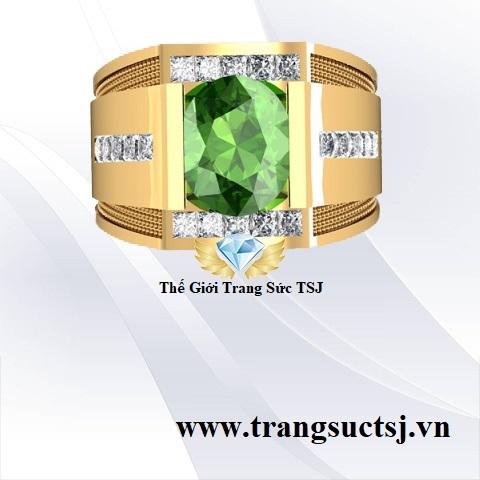 Nhẫn Nam Đẹp Nhất TPHCM - Trang Sức Đá Sapphire