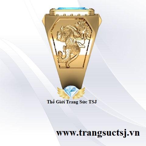Nhẫn Tỳ Hưu Vàng Nam Trang Sức TSJ - Thương Hiệu Vàng Bạc Đá quý