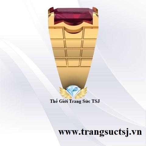 Nhẫn Ruby Đỏ Nam Hợp Phong Thủy