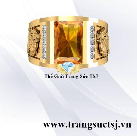 Nhẫn Citirne Vàng Nam Đẹp Giá Rẻ