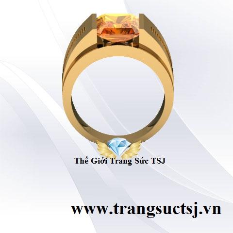 Nhẫn Phong Thủy Nam - Trang Sức TSJ