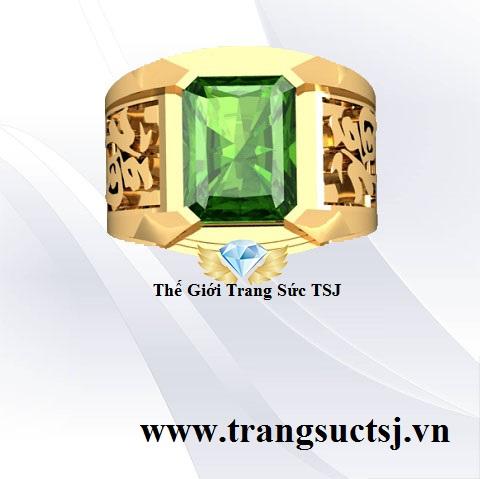 Nhẫn Sapphire Nam Đẹp Cho Nam