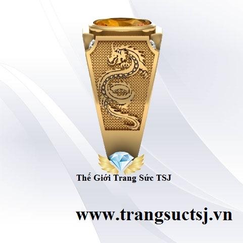 Nhẫn Nam Nữ Trang Sức Đá Quý Phong Thủy