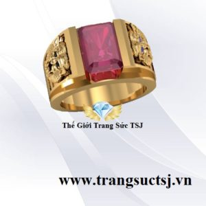 Trang Sức Đá Ruby Đeo Tay Nam TSJ