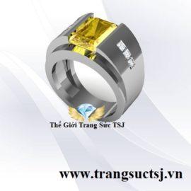 Nhẫn Nam Bạc 925 Sang Trọng