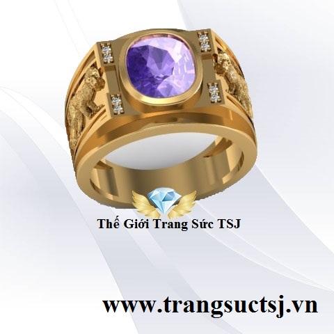 Nhẫn Hợp Mệnh Cho Nam - Trang Sức TSJ