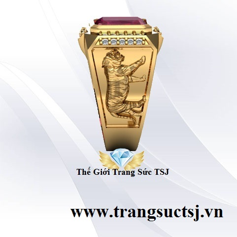 Nhẫn Nam Đẹp Vàng 18k Mua Trang Sức Vàng Online Uy Tín