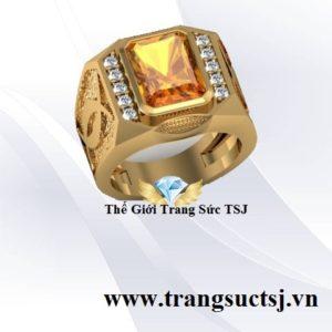 Nhẫn Nam Mệnh Thổ Cho Nam - Trang Sức TSJ