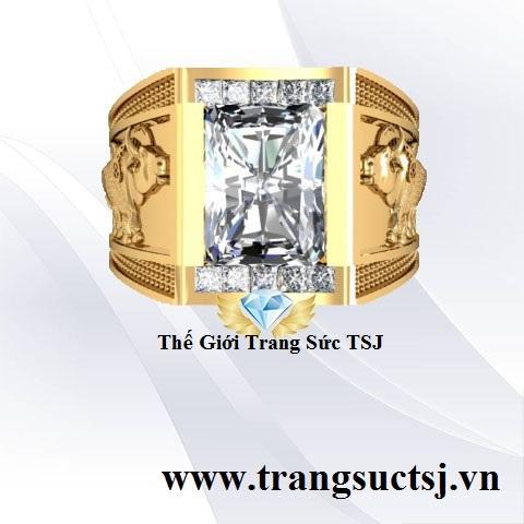 Nhẫn Nam Thời Trang 2019 - Trang Sức Vàng