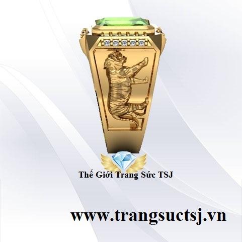 Trang Sức Nam Đá Quý Kiểm Định SJC