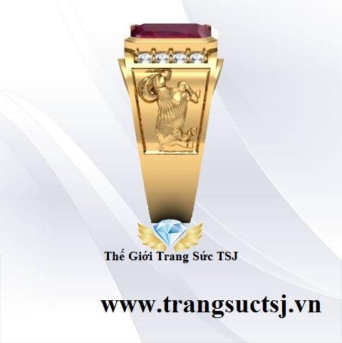Nhẫn Dê Đẹp Hợp Phong Thủy Cho Nam