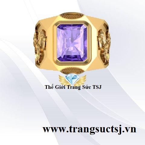 Nhẫn Nam Đẹp Vàng 18k Chất Lượng