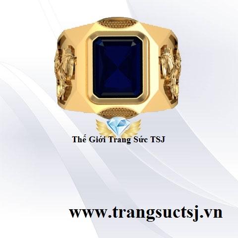 Nhẫn Nam Doanh Nhân Vàng 18k