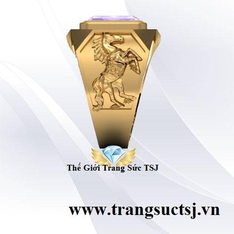 Nhẫn Nam Thế Giới Phong Thủy Trang Sức TSJ