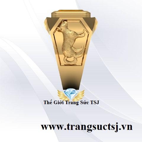 Nhẫn Vàng 18k Nam Thời Trang
