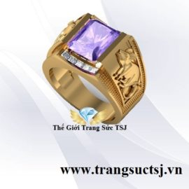 Nhẫn Nam Phong Thủy Hình Chuột Đẹp