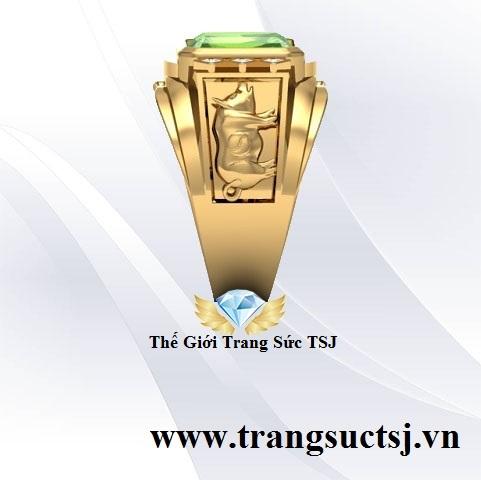 Nhẫn Nam Đá Quý Thế Giới Trang Sức TSJ 387 Trần Hưng Đạo