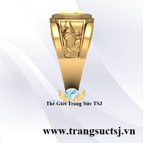 Nhẫn Nam Phong Thủy May Mắn
