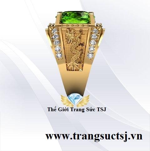 Nhẫn Nam Thế Giới Trang Sức TSJ Quận 1