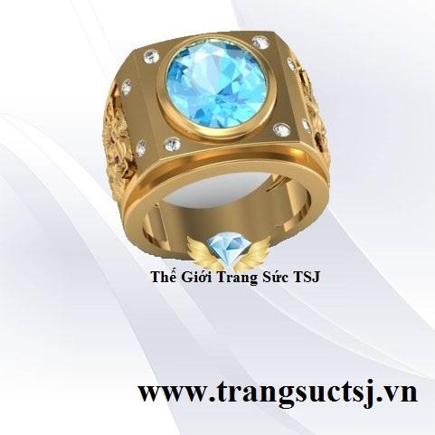 Nhẫn Nam Trang Sức TSJ 387, Trần Hưng Đạo