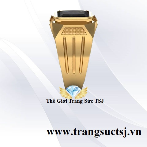 Nhẫn Nam Sapphire - Thế Giới Trang Sức TSJ